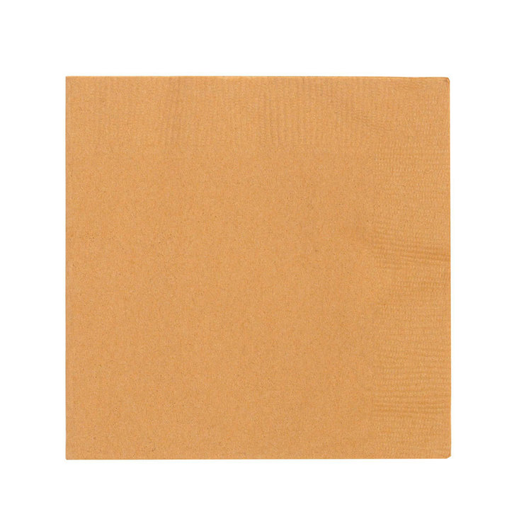 Amscan 2 Ply Gold Beverage Napkins Gold