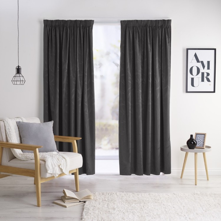 Caprice Ava Pencil Pleat Curtains