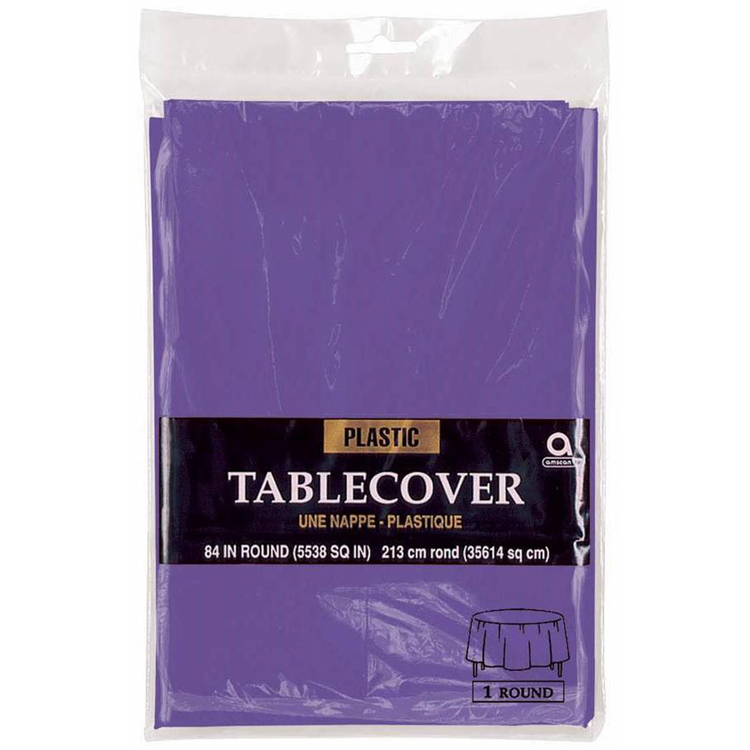 Amscan Round Table Cover
