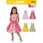New Look 6202 Girl's Dress  3 - 8