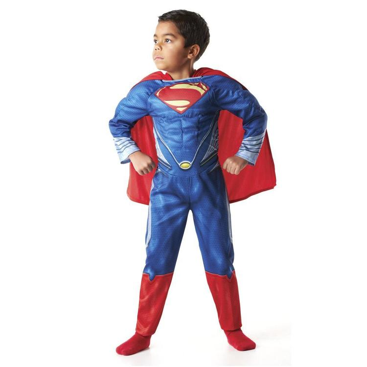 Superman Character Costume Blue 5 - 6 Years