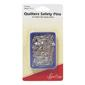 Sew Easy Pins Safety Open Plated Silver 25 mm
