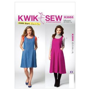 Kwik Sew Pattern K3955 Misses' Jumper