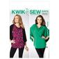 Kwik Sew K3976 Misses' Top  All Sizes