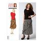 Vogue V1333 Misses' Blouse & Skirt One Size