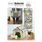 Butterick B5867 Toy Organizer House Mat & Carry Bag