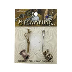 Steampunk Sewing Charms