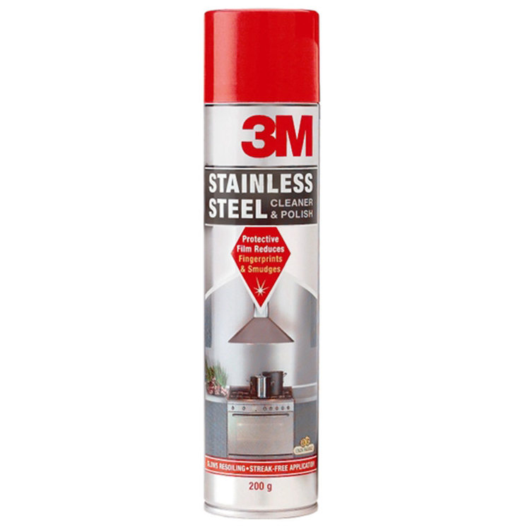 3M Stainless Steel Cleaner & Polish Multicoloured