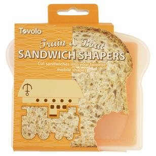Tovolo Train & Boat Sandwich Shapers