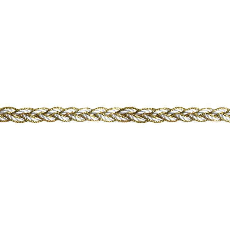 Simplicity Braid With Metallic Edge