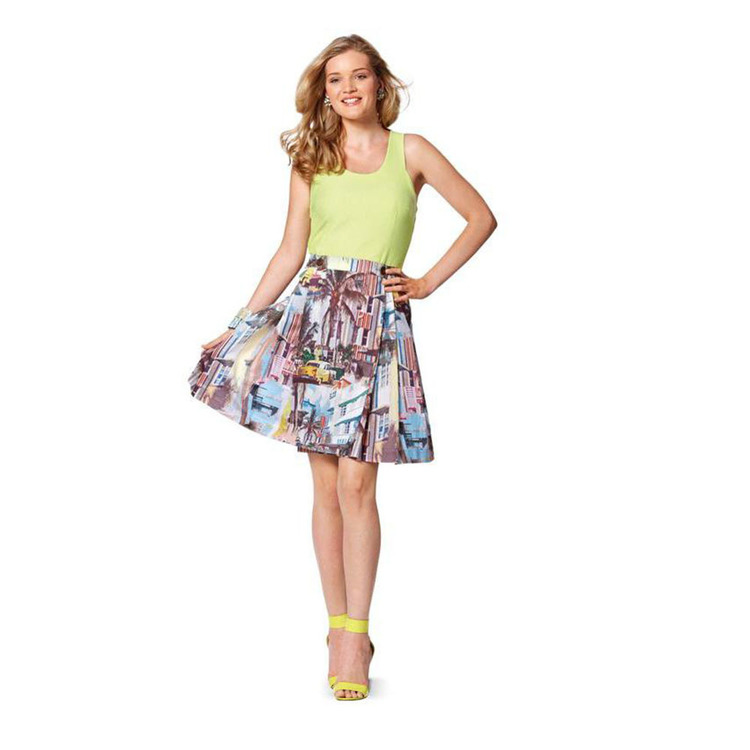Burda 7049 Women's Skirt  6 - 18
