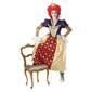 Red Queen Of Hearts Costume Multicoloured