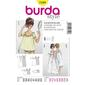 Burda 7109 Women's Sleepwear  10 - 24
