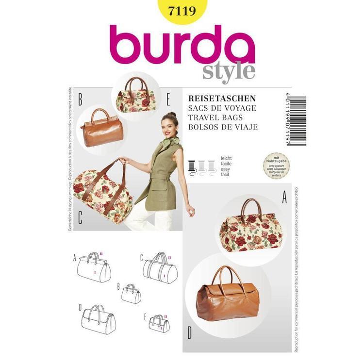 Burda Pattern 7119 Travel Bag
