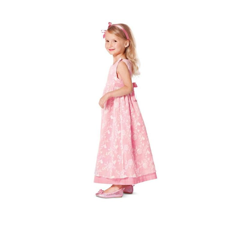 Burda Pattern 9460 Girl's Dress & Jumpsuit  2 - 6