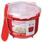 Sistema Microwave Rice Steamer Red