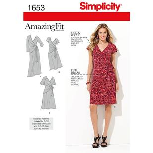 Simplicity Pattern 1653 Women's Dress