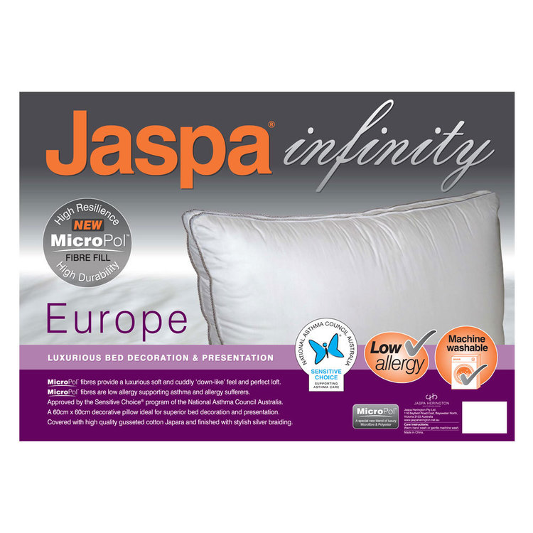 Jaspa Infinity Europe Micropol Pillow