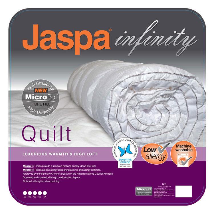 Jaspa Infinity MicroPol Quilt