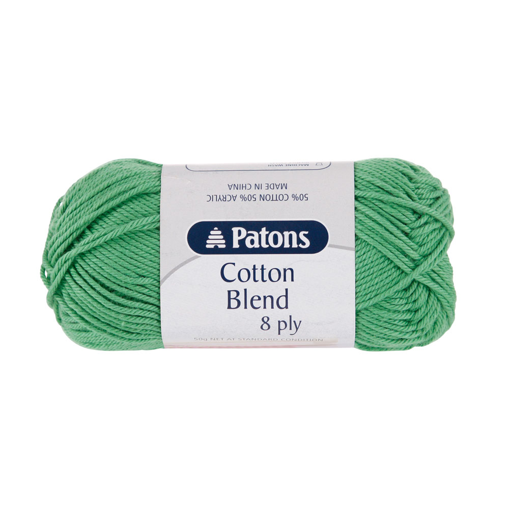 NEW-Patons-Cotton-Blend-8-Ply-Yarn-50-g-By-Spotlight
