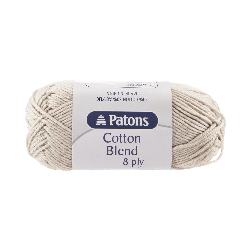 NEW-Patons-Cotton-Blend-8-Ply-Yarn-By-Spotlight