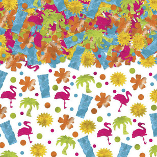 Amscan Summer Luau Tiki Confetti Mega Value Pack