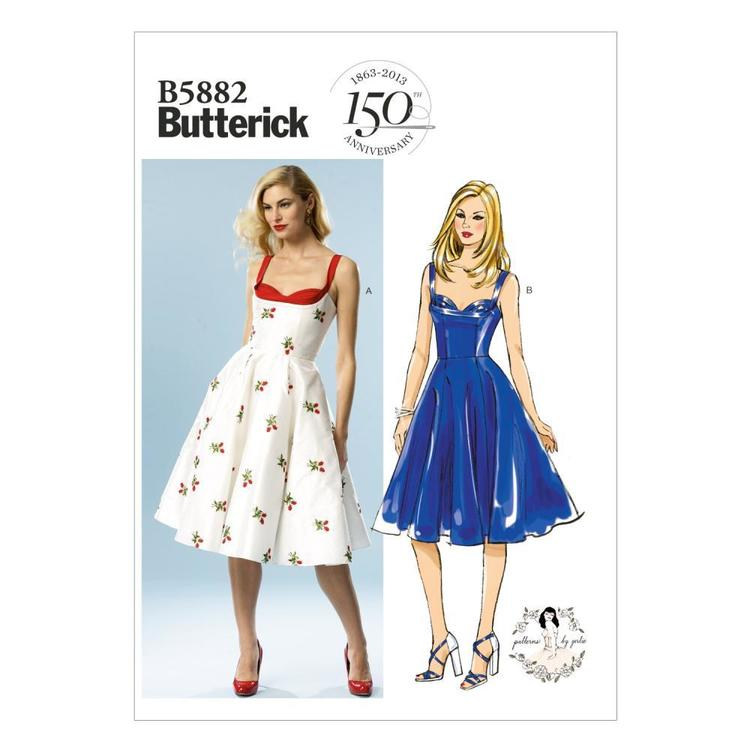 Butterick Pattern B5882 Misses' Dress