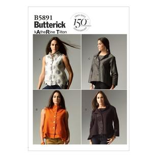 Butterick B5891 Misses' Top