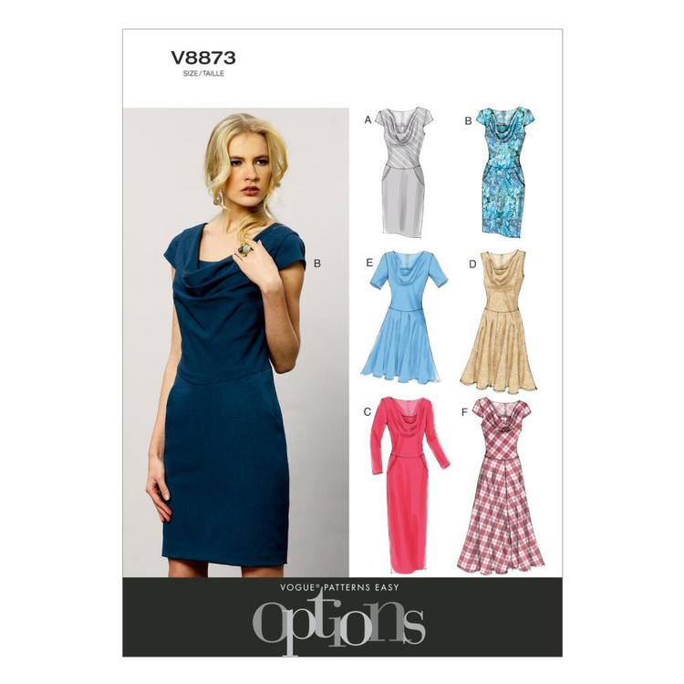 Vogue V8873 Misses' Petite Dress