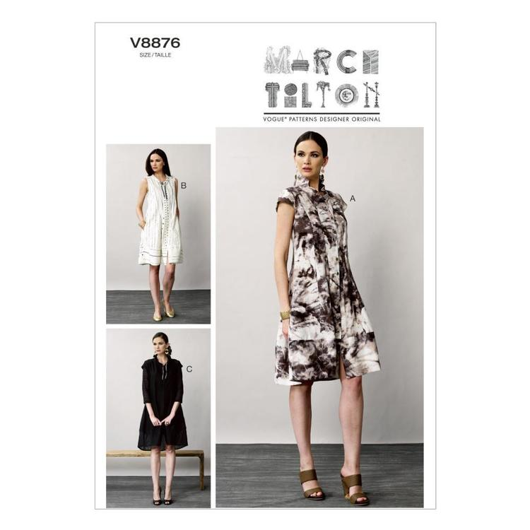 Vogue V8876 Misses' Dress