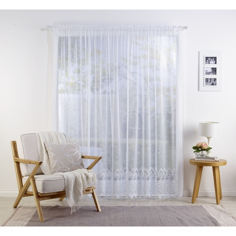 Caprice Cynthia Lace Curtain - Everyday Bargain