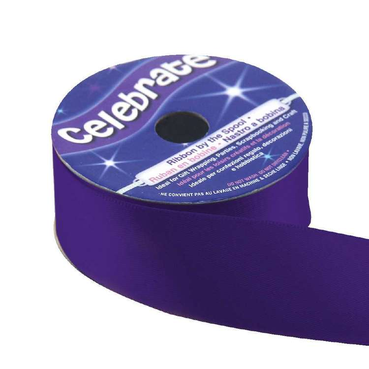 Celebrate 25 mm Satin Ribbon