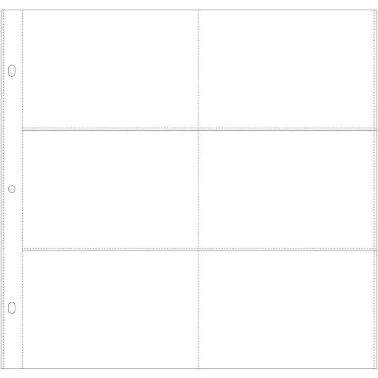 Kaisercraft Multi Pocket Page 6x4