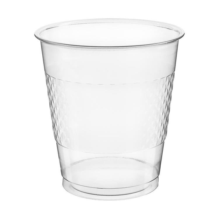 Amscan Clear Plastic Cups 20 Pack
