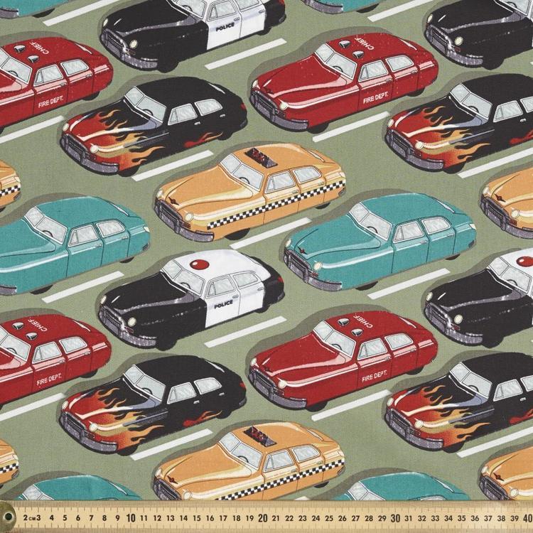 Montreaux Cars Cotton Drill