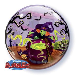 Qualatex Bubble Flying Witches Balloon