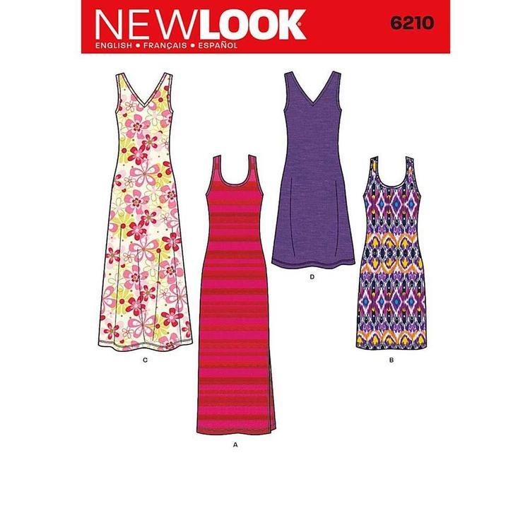 New Look Pattern 6210 Women's Dress