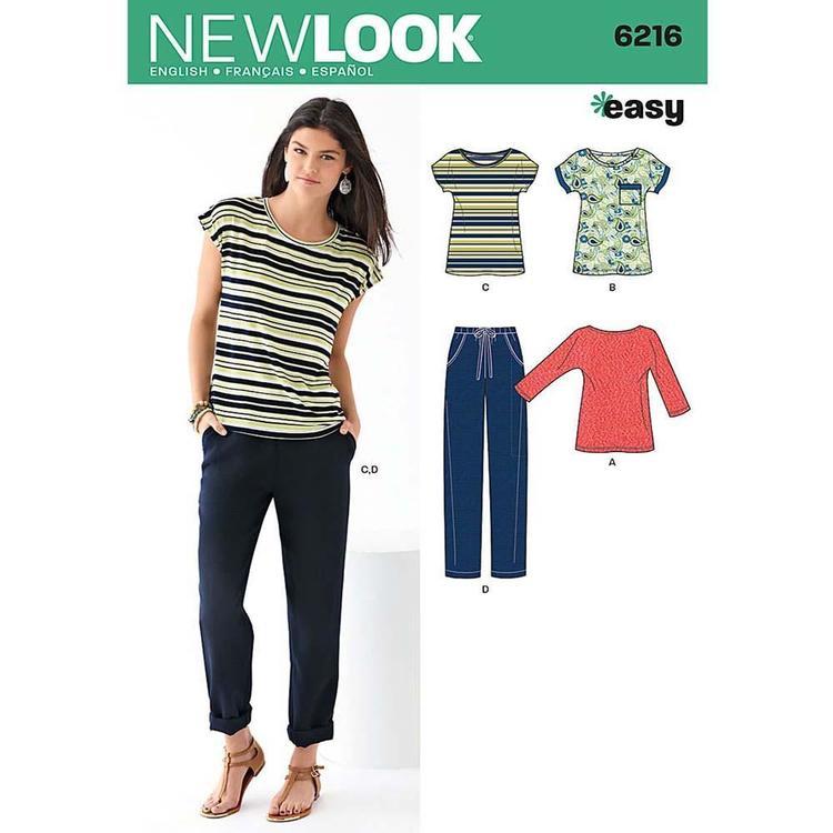 New Look Pattern 6216 Women's Coordinates