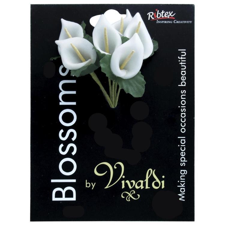 Vivaldi Blossoms 6 Head Foam Lily