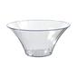 Amscan Flared Container Bowl Clear