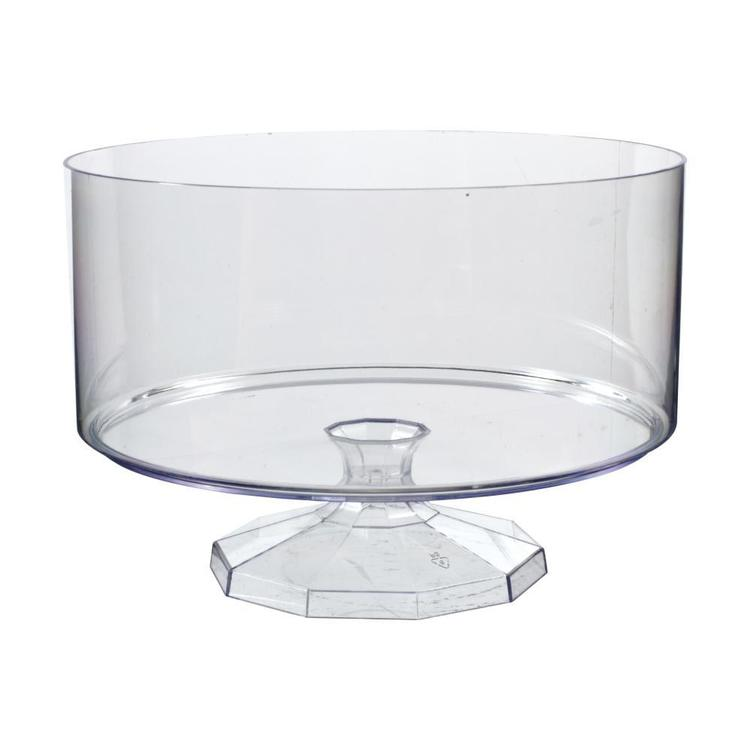Amscan Trifle Container Bowl Clear