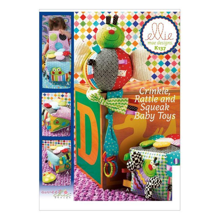 Kwik Sew Pattern K0137 Toys