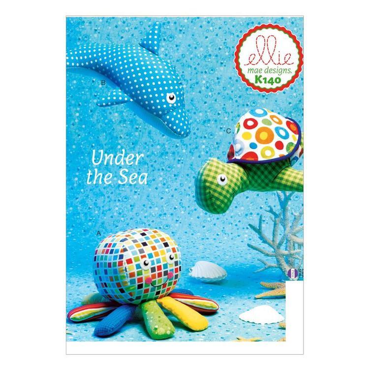 Kwik Sew Pattern K0140 Toys