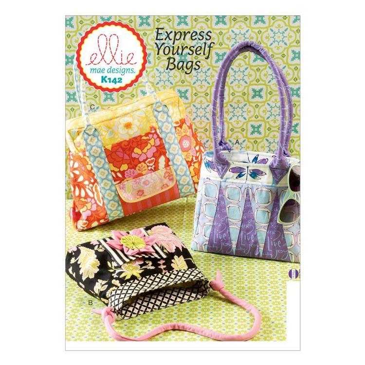 Kwik Sew Pattern K0142 Bags