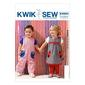 Kwik Sew K3983 Toddlers' Dress Overalls & Pants One Size