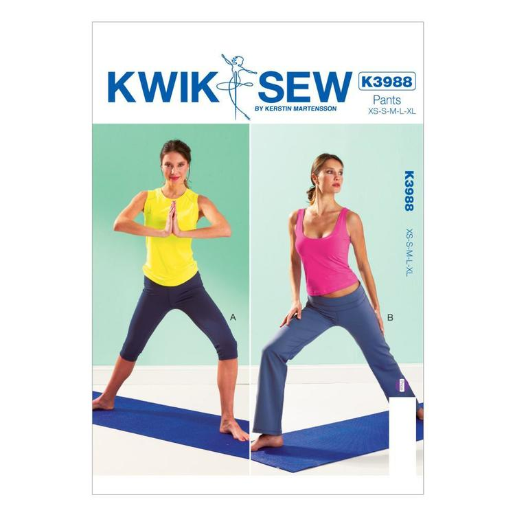 Kwik Sew K3988 Misses' Pants One Size