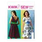 Kwik Sew K4001 Misses' Dresses & Belt  All Sizes