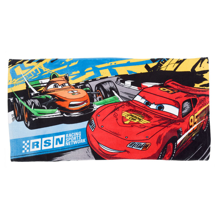 Disney Cars Bath Towel Cars