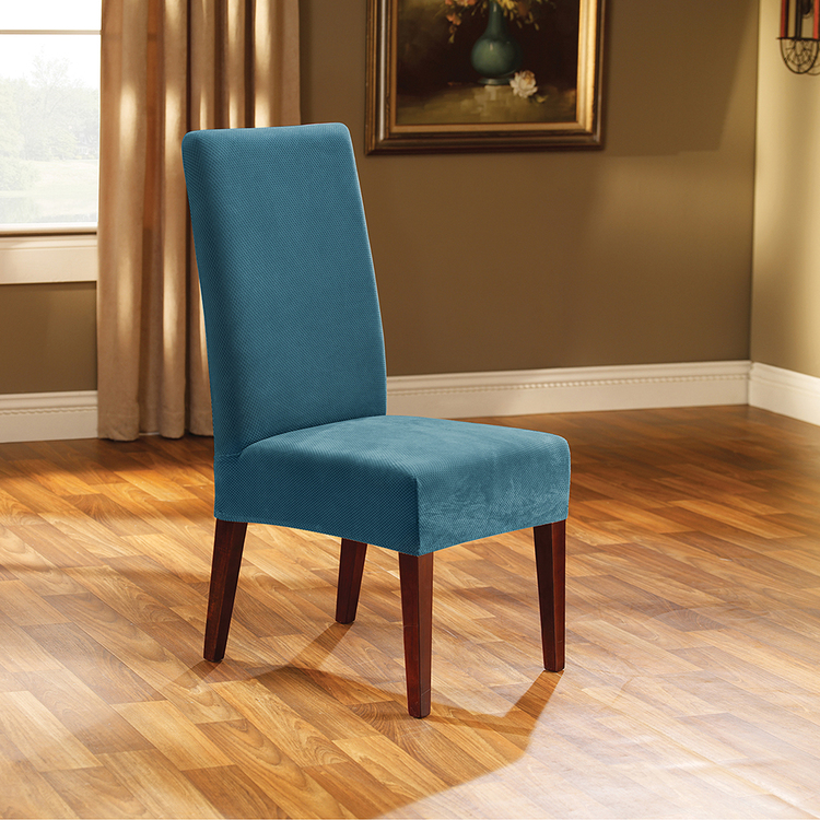 Surefit Ardor Dining Chair Cover Teal
