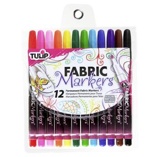Tulip 12 Piece Fabric Markers